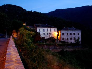 Castello arrivée à Pastoreccia