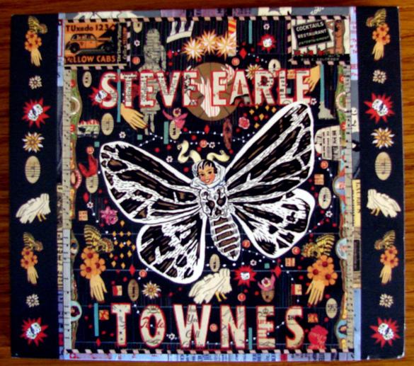 Pochette disque Steve Earle - Townes