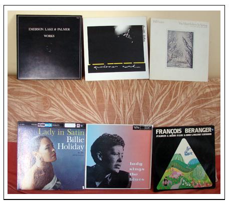 Récolte vinylesque du 30 août
